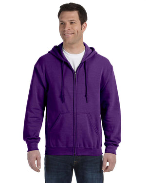 Gildan Hoodie - Full Zip - G18600 - Purple - ENDS Monday overnight - Ready to ship Friday