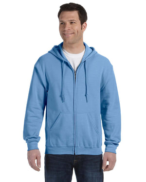 Gildan Hoodie - Full Zip - G18600 - Carolina Blue - ENDS Monday overnight - Ready to ship Friday