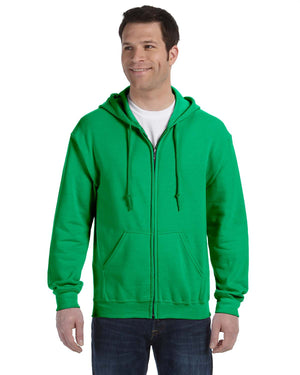 Gildan Hoodie - Full Zip - G18600 - Irish Green - ENDS Monday overnight - Ready to ship Friday