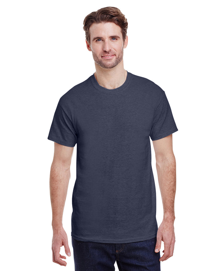 Gildan tshirt - G2000 - HEATHER NAVY - ENDS Monday overnight - Ready to ship Friday