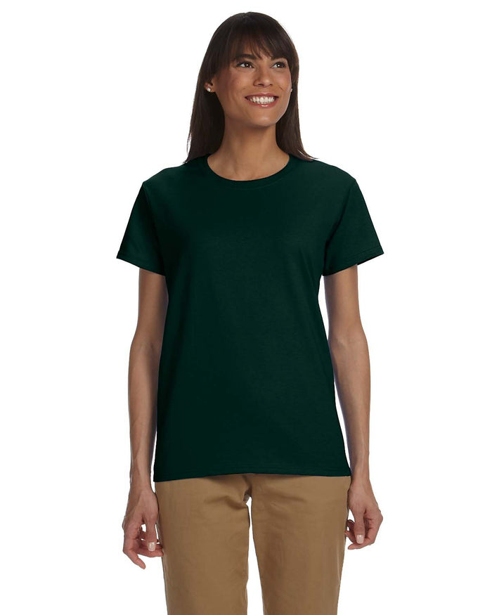 Gildan tshirt - G2000L - FOREST GREEN - ENDS Monday overnight - Ready to ship Friday