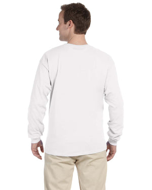 Gildan long sleeve tee - G24000 - WHITE - ENDS Monday overnight - Ready to ship Friday