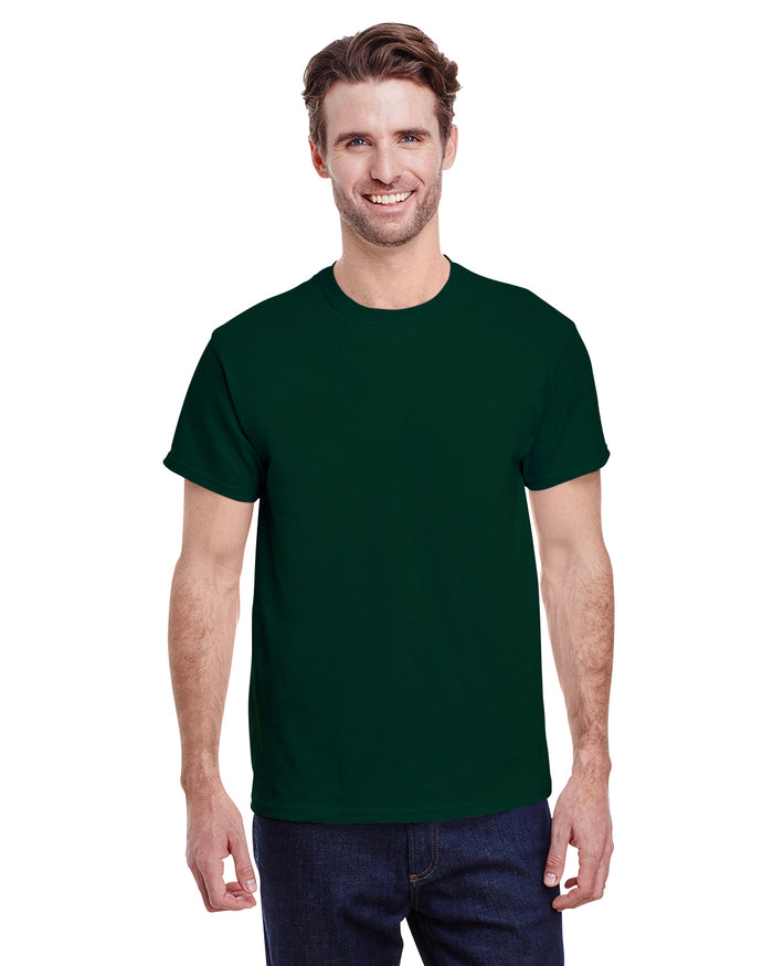 Gildan tshirt - G5000 - FOREST GREEN - ENDS Monday  overnight - Ready to ship Friday