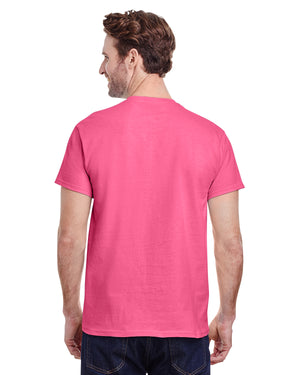 Gildan tshirt - G5000 - SAFETY PINK - ENDS Monday overnight - Ready to ship Friday