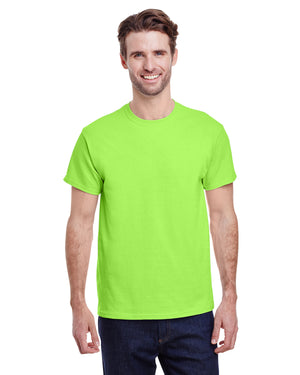 Gildan tshirt - G5000 - NEON GREEN - ENDS Monday overnight - Ready to ship Friday