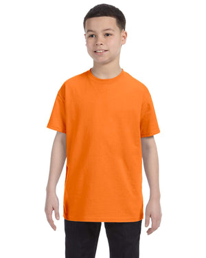 Gildan Youth - SAFETY ORANGE - G5000B - ENDS Monday overnight - Ready to ship Friday