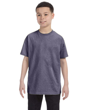 Gildan Youth - GRAPHITE HEATHER - G5000B - ENDS Monday overnight - Ready to ship Friday