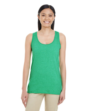 Gildan Ladies' Racerback Tank - Softstyle - IRISH GREEN - G6450RL - ENDS Monday night - Ready to ship Friday