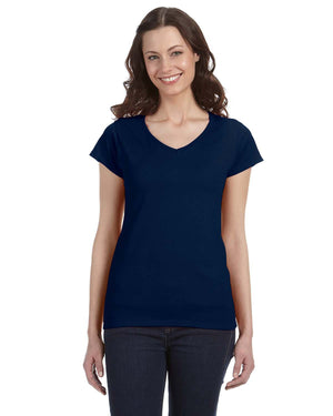 Gildan Ladies' SoftStyle G640VL - NAVY - ENDS Monday night - Ready to ship Friday
