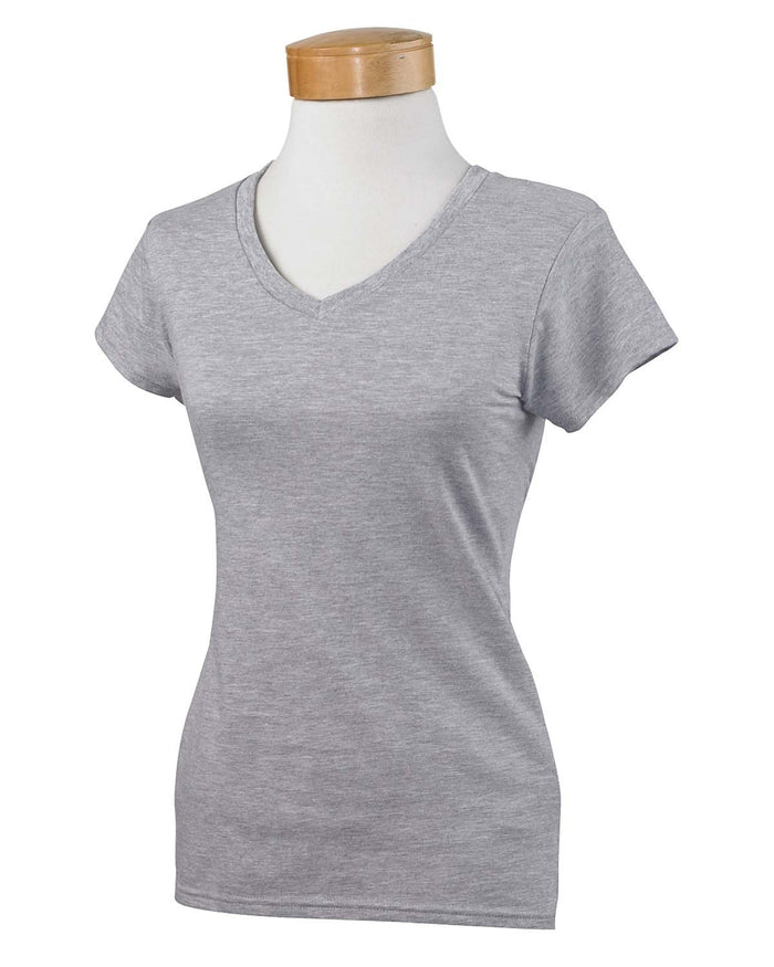 Gildan Ladies' SoftStyle G640VL - SPORT GREY - ENDS Monday night - Ready to ship Friday