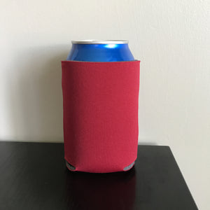 12oz can koozies - red