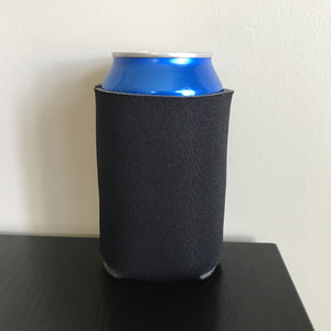 12oz can koozies - black