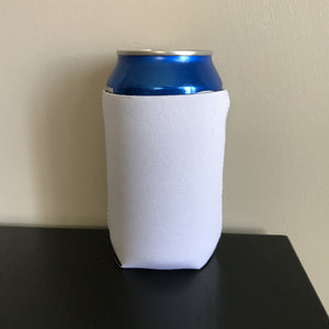 12oz can koozies - white