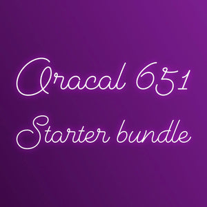 Oracal 651 - Starter kit!