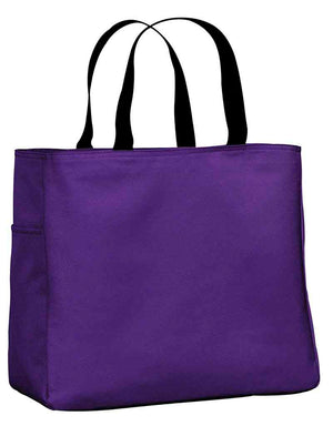 Poly canvas tote