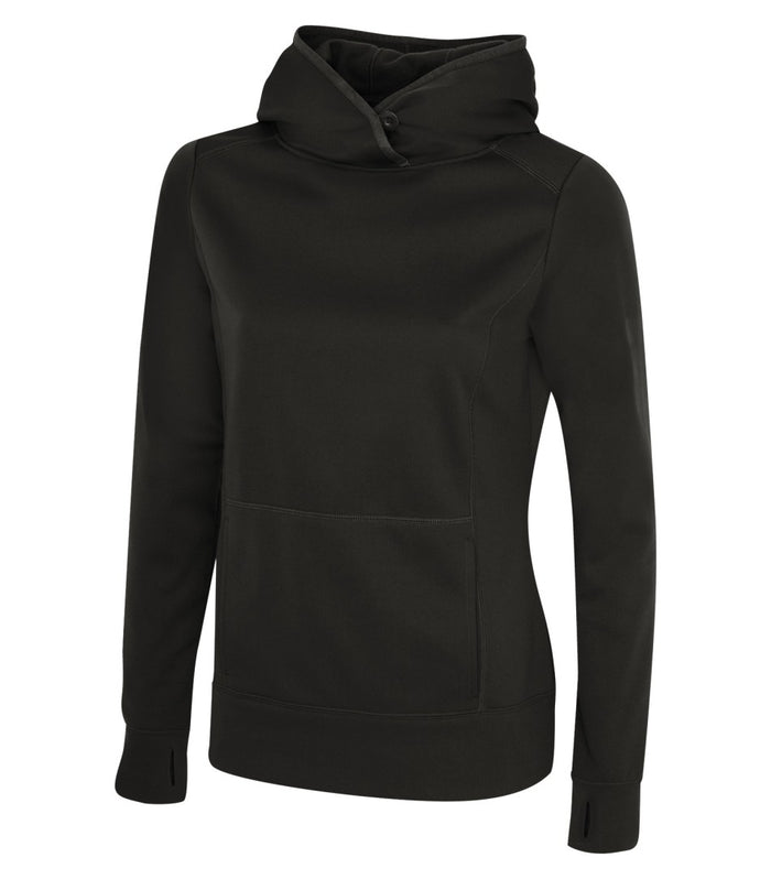 ATC GAME DAY FLEECE LADIES' HOODIE - L2005 - BLACK - ENDS MONDAY OVERNIGHT - READY TO SHIP FRIDAY