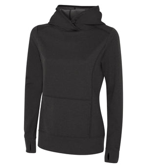 ATC GAME DAY FLEECE LADIES' HOODIE - L2005 - Charcoal Heather - ENDS MONDAY OVERNIGHT - READY TO SHIP FRIDAY