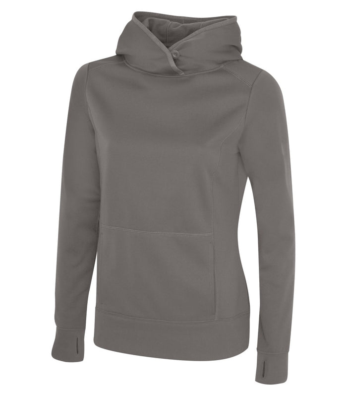 ATC GAME DAY FLEECE LADIES' HOODIE - L2005 - Coal Grey - ENDS MONDAY OVERNIGHT - READY TO SHIP FRIDAY