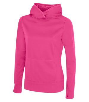 ATC GAME DAY FLEECE LADIES' HOODIE - L2005 - Extreme Pink - ENDS MONDAY OVERNIGHT - READY TO SHIP FRIDAY