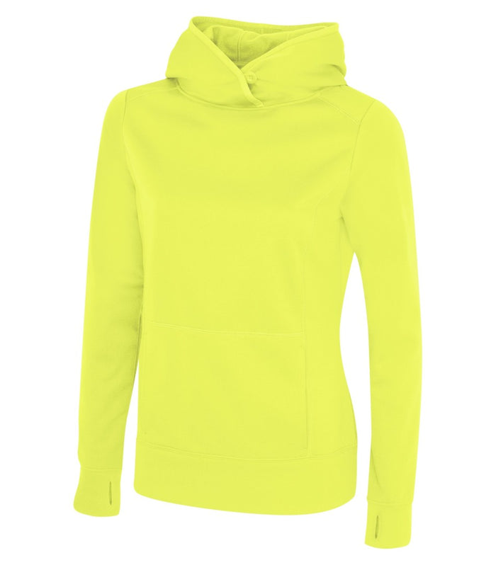 ATC GAME DAY FLEECE LADIES' HOODIE - L2005 - Extreme Yellow - ENDS MONDAY OVERNIGHT - READY TO SHIP FRIDAY