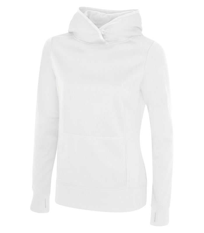 ATC GAME DAY FLEECE LADIES' HOODIE - L2005 - White - ENDS MONDAY OVERNIGHT - READY TO SHIP FRIDAY