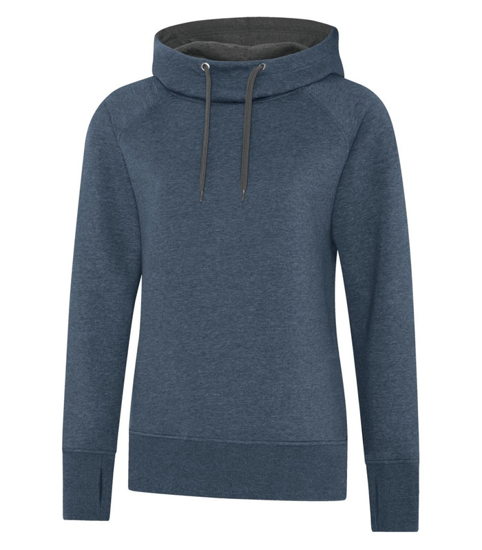 ATC ESACTIVE VINTAGE LADIES' HOODIE - L2045 - Navy Heather - ENDS MONDAY OVERNIGHT - READY TO SHIP FRIDAY