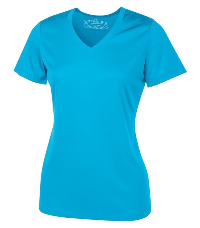 ATC PRO TEAM SHORT SLEEVE V-NECK LADIES' TEE - L3520 - Atomic Blue - ENDS MONDAY OVERNIGHT - READY TO SHIP FRIDAY