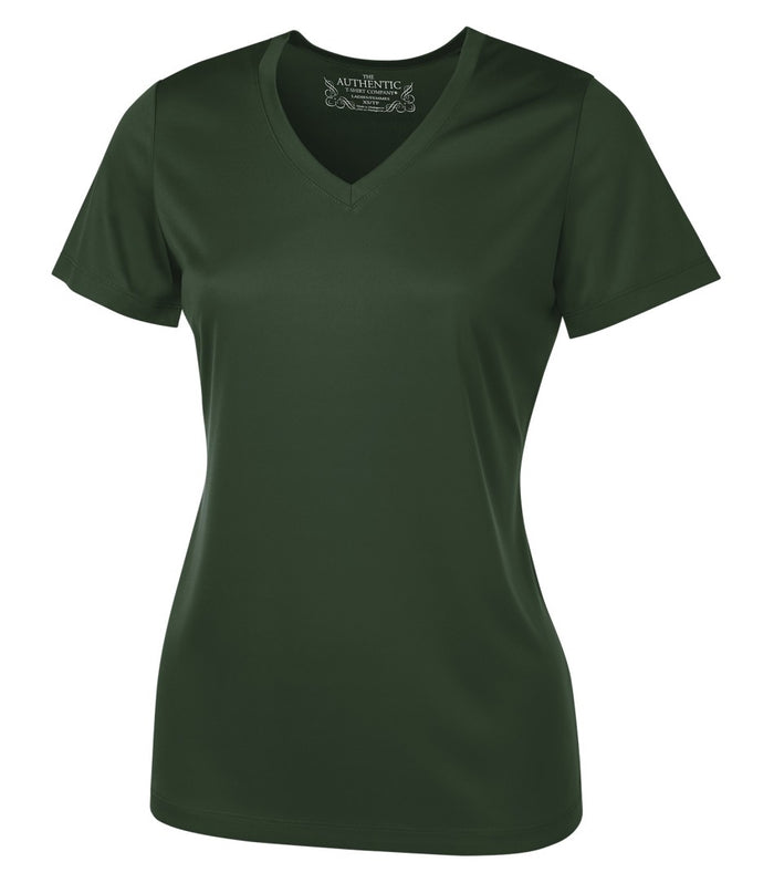 ATC PRO TEAM SHORT SLEEVE V-NECK LADIES' TEE - L3520 - Forest Green - ENDS MONDAY OVERNIGHT - READY TO SHIP FRIDAY