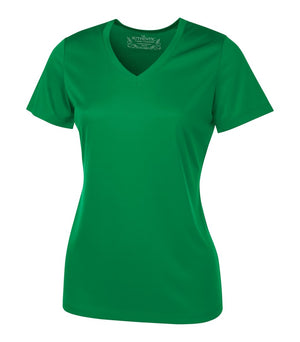 ATC PRO TEAM SHORT SLEEVE V-NECK LADIES' TEE - L3520 - Kelly Green - ENDS MONDAY OVERNIGHT - READY TO SHIP FRIDAY