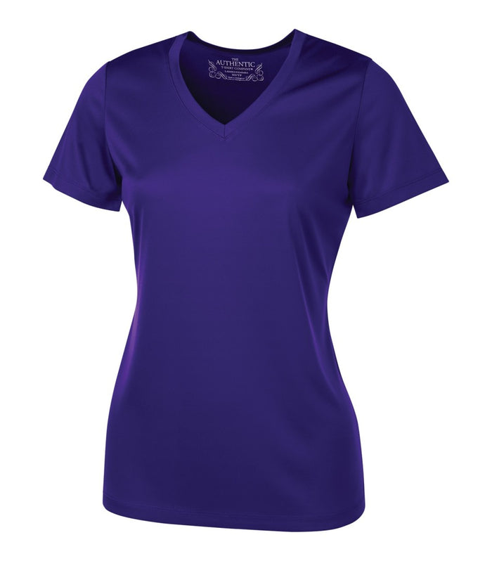 ATC PRO TEAM SHORT SLEEVE V-NECK LADIES' TEE - L3520 - Purple - ENDS MONDAY OVERNIGHT - READY TO SHIP FRIDAY
