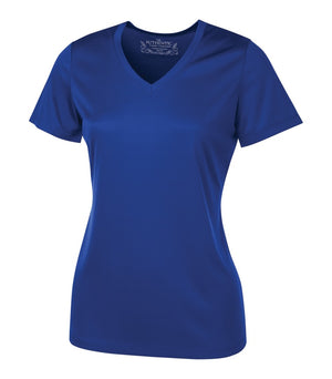 ATC PRO TEAM SHORT SLEEVE V-NECK LADIES' TEE - L3520 - True Royal - ENDS MONDAY OVERNIGHT - READY TO SHIP FRIDAY