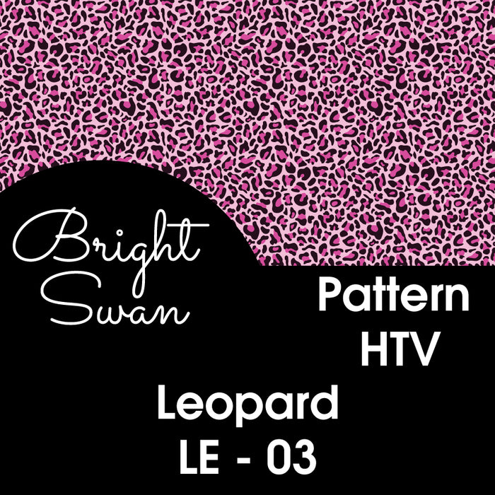 Patterned HTV - Leopard - LE-03