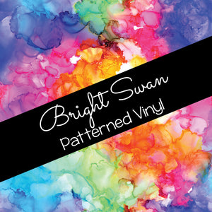 Patterned Vinyl & HTV - Rainbow Ink Splash
