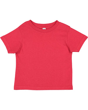 Rabbit Skins Toddler T-shirt - 3301 - RED - backordered