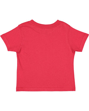 Rabbit Skins Toddler T-shirt - 3301 - RED - Ends Monday overnight - Ready to ship Friday