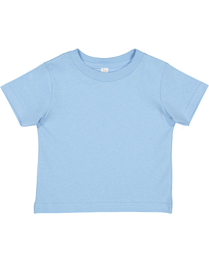 Rabbit Skins Toddler T-shirt - 3301 - LIGHT BLUE - Ends Monday overnight - Ready to ship Friday