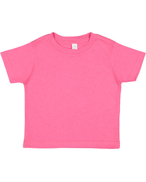 Rabbit Skins Toddler T-shirt - 3301 - HOT PINK - Ends Monday overnight - Ready to ship Friday