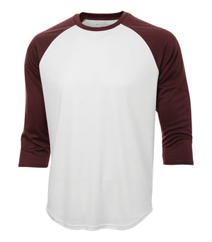 ATC PROTEAM BASEBALL JERSEY - S3526 - White/Maroon - Ends Monday Overnight - Ready to Ship Friday