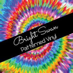 Patterned Vinyl & HTV - Tie Dye 01
