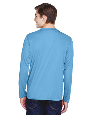 TT11L Team 365 Performance Mens Polyester Long Sleeve Shirt - SPORT LIGHT BLUE - ENDS Monday night - Ready to ship Friday