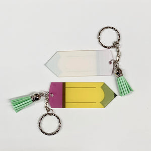 Pencil key chain - Extras - Ready to ship early Oct