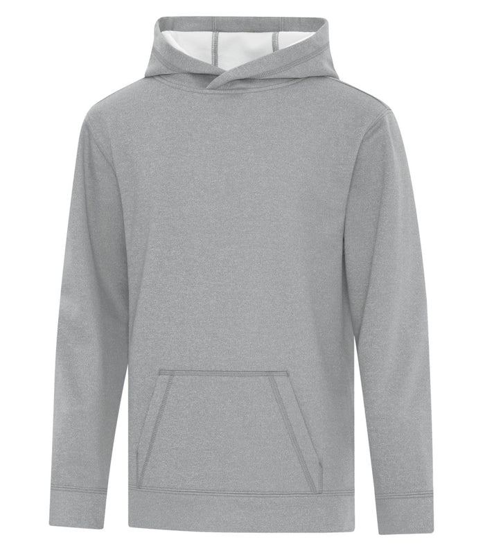 ATC Game Day Fleece Youth Hoodie - Y2005 - Athletic Grey - Ends Monday Overnight - Ready to ship Friday
