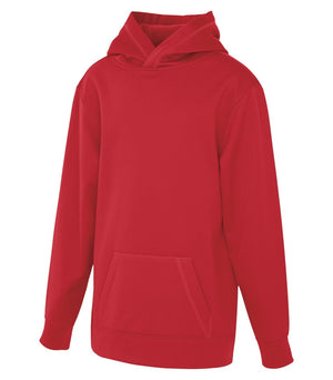ATC Game Day Fleece Youth Hoodie - Y2005 - True Red - Ends Monday Overnight - Ready to ship Friday