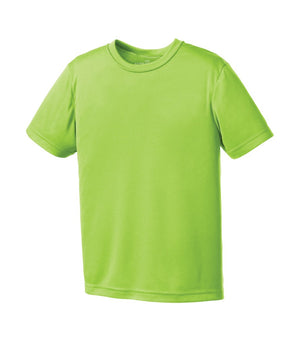 ATC Pro Team Short Sleeve Youth Tee - Y350 - Lime Shock - Ends Monday Overnight - Ready to ship Friday