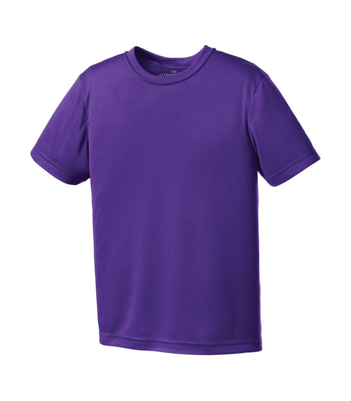 ATC Pro Team Short Sleeve Youth Tee - Y350 - Purple - Ends Monday Overnight - Ready to ship Friday