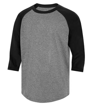 ATC PROTEAM BASEBALL YOUTH JERSEY - Y3526 - Charcoal Heather/Black - Ends Monday Overnight - Ready to Ship Friday
