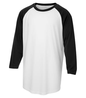 ATC PROTEAM BASEBALL YOUTH JERSEY - Y3526 - White/Black - Ends Monday Overnight - Ready to Ship Friday
