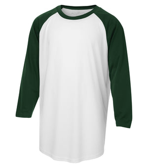 ATC PROTEAM BASEBALL YOUTH JERSEY - Y3526 - White/Forest Green - Ends Monday Overnight - Ready to Ship Friday