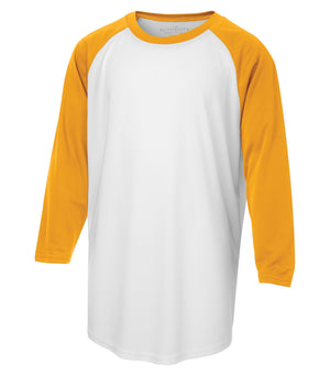ATC PROTEAM BASEBALL YOUTH JERSEY - Y3526 - White/Gold - Ends Monday Overnight - Ready to Ship Friday