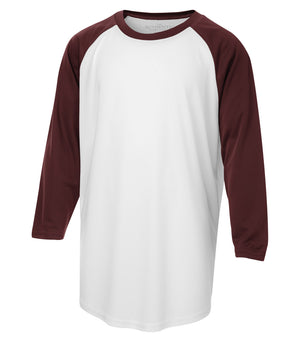 ATC PROTEAM BASEBALL YOUTH JERSEY - Y3526 - White/Maroon - Ends Monday Overnight - Ready to Ship Friday